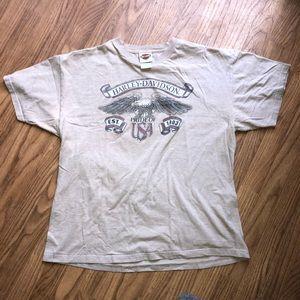 Vintage 2008 Harley Davidson shirt made In USA xl
